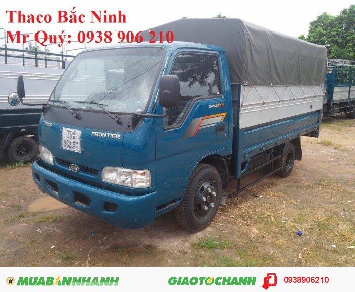 Bán xe tải Thaco K165S (K3000) tải trọng 2,4 tấn