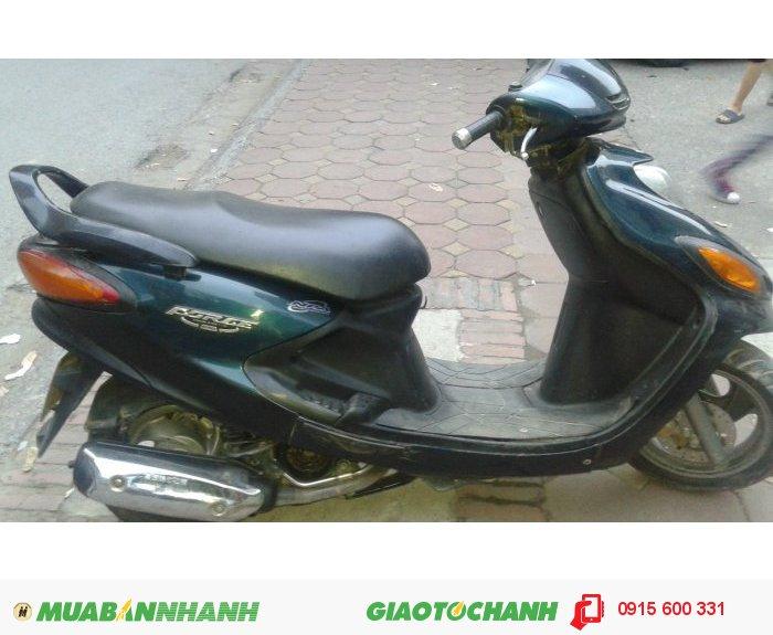 Bán xe máy Yamaha FOCRE màu xanh 2