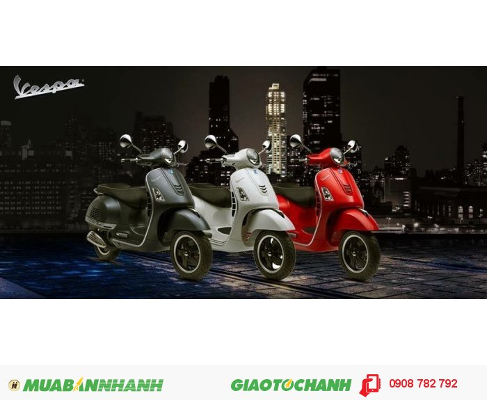 Mua bán xe VESPA/PIAGGIO chính hãng Hồ Chí Minh, Trả góp 0%...