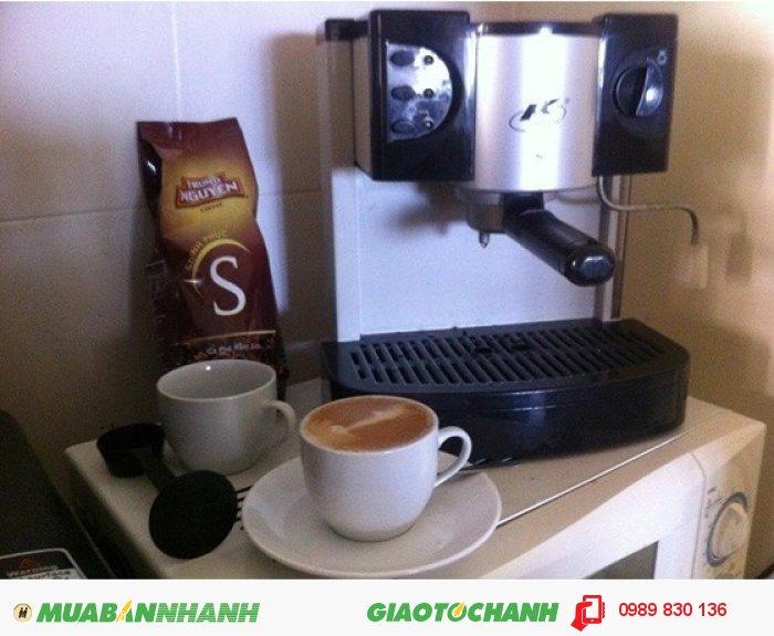 TL máy pha cà phê Expresso và Capuchino2