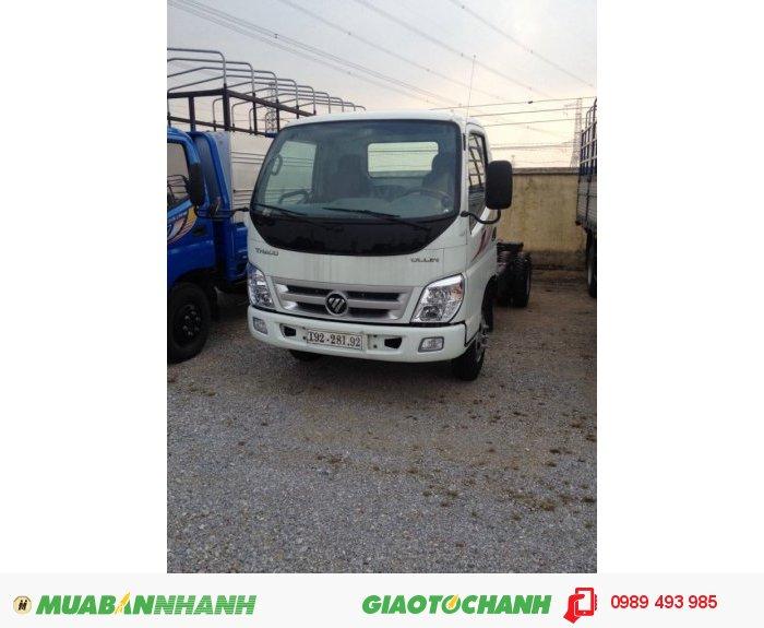 Giá xe tải Ollin 500B tải trọng 5 tấn Thaco Trường Hải Lh Mr Dũng 0989493985