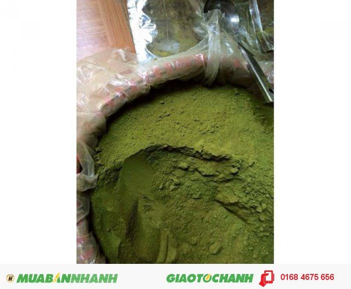 Bột trà xanh Thái Nguyên1