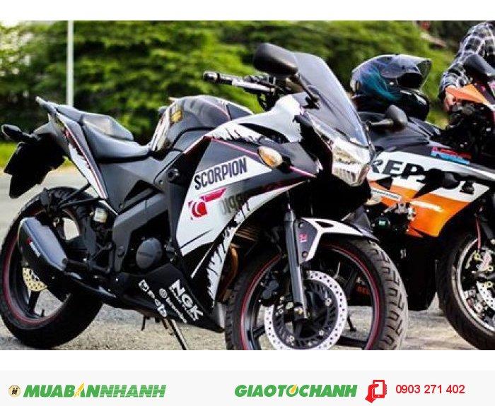 Honda CBR 150 hrc đăng ký cuối 2011