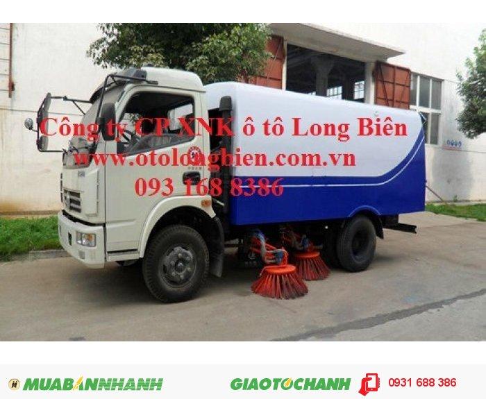 Xe quét đường hút bụi, ISUZU, Dongfeng, hyundai, Daewoo 4, 5-6m3 tại Hà Nội 2015, 2016