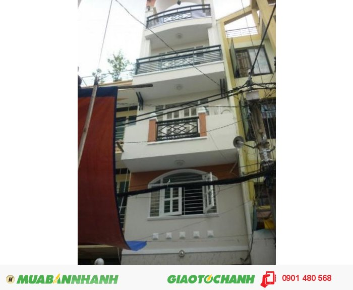 Cho thuê căn cao ốc mặt tiền Điện Biên Phủ, Quận 3