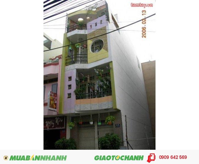 Cần Bán Gấp nhà MT thục Võ Văn Tần,P.5,Q.3, DT: 3.8m*18m nhà 2 lầu, giá 7.2 tỷ.