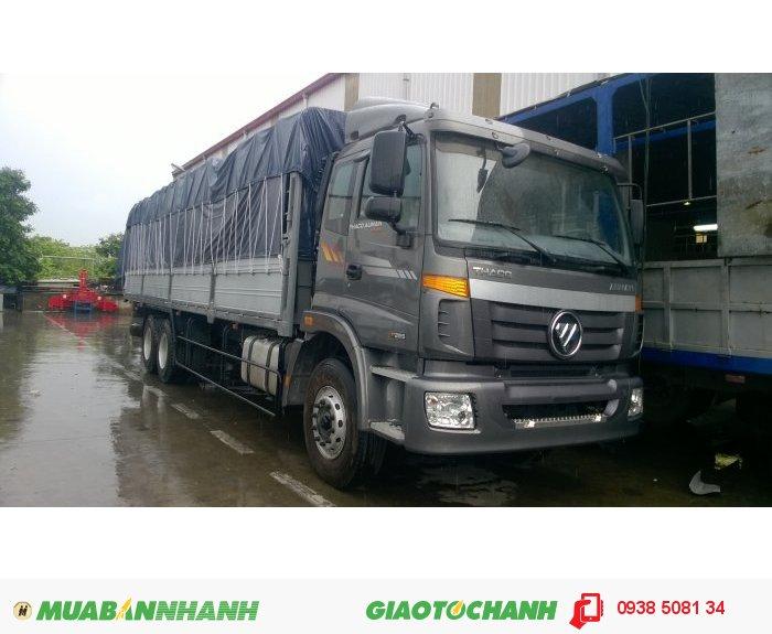 Xe tải 3 chân 14 tấn Thaco Auman C240B (6x2 - Cabin rộng), Cơ cấu Banlance - Hệ Thống cân bằng hơi 1