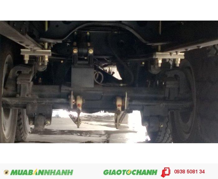 Xe tải 3 chân 14 tấn Thaco Auman C240B (6x2 - Cabin rộng), Cơ cấu Banlance - Hệ Thống cân bằng hơi 3