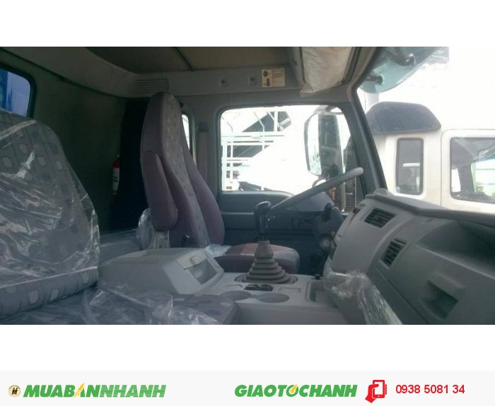 Xe tải 5 chân 21 tấn Thaco Auman C34 (10x4)