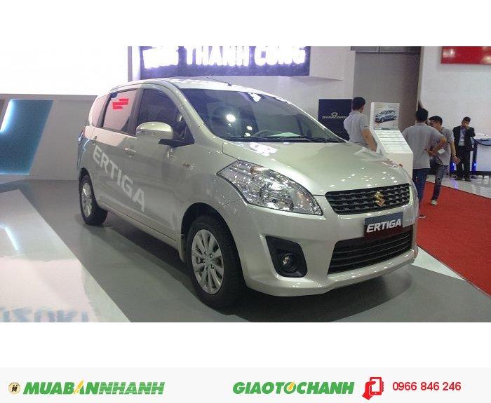 Suzuki Ertiga 2015 màu bạc giá tốt,chỉ còn 1 chiếc 599 triệu