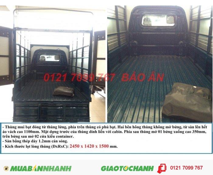 Xe Tải Nhỏ Towner 950A, Xe Tải Thaco Towner 950A - 880Kg 1