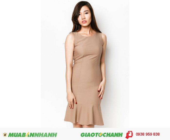 Đầm bèo lai thắt nơ eo| Mã: AD231-nâu| Quy cách: 84-64-88 (+-2): chiều dài tb: 85cm - 90cm | Chất liệu cotton lạnh| Size (S - M - L - XL) | Mô tả: Đầm xòe sẽ giúp các cô gái trở nên thanh lịch và quý phái hơn trong phong cách của mình. Thiết kế phối nơ thắt tạo điểm nhấn thu hút và góp phần giúp bạn thêm nữ tính. May khóa kéo sau lưng. -Tùng đầm xòe . Giá: 598,000 đồng, 2