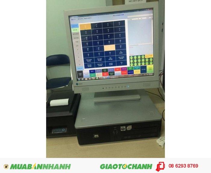 Máy Tính Tiền Bán Hàng Cảm Ứng Trọn Bộ Cho Shop Thời Trang