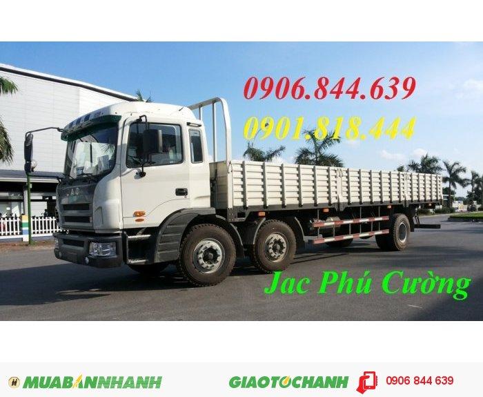 Bán xe tải Jac 2 dí 1 cầu máy 240Hp = xe tải thùng jac 240Hp tải trọng 9.2T mới 100% 0
