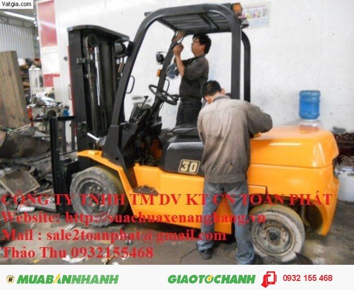 Chuyên sửa chữa xe nâng hàng Thu Tùng