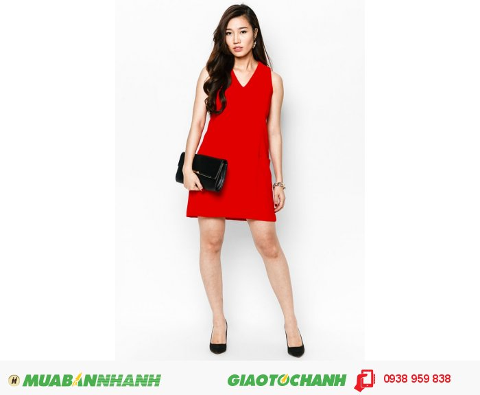 Đầm suôn phối cúp 2 túi | Mã: AD214-đỏ| Giá: 488000 Quy cách: 84-66-90 (+-2): chiều dài tb: 85cm - 90cm | chiffon lạnh | Size (S - M - L - XL) | Mô tả: Khoe nét thanh lịch và duyên dáng với đầm suông. Thiết kế phù hợp trong những buổi xuống phố nhẹ nhàng., 4