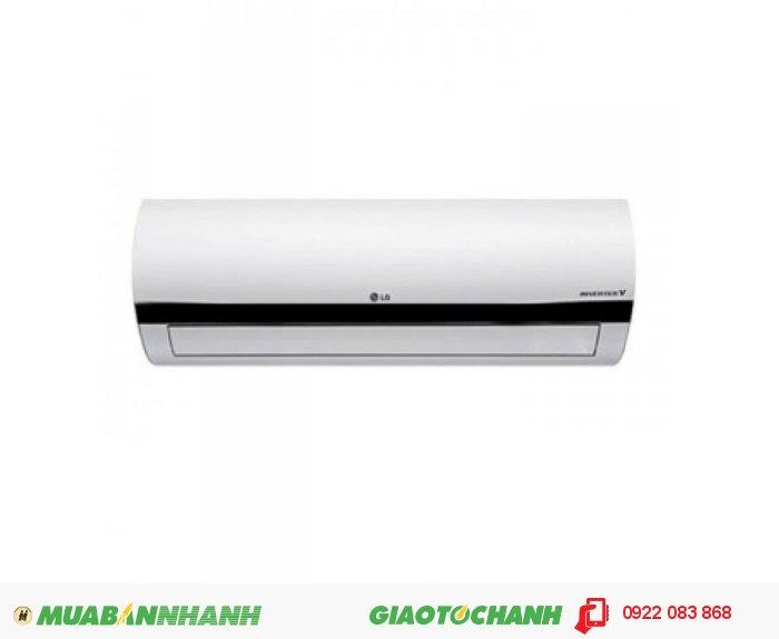 Máy lạnh LG V13ENTDàn tản nhiệt mạ vàngCông nghệ Inverter giúp tiết kiệm năng lượngMáy lạnh làm lạnh nhanh hơnTấm lọc nhiệt sinh họcChế độ vận hành cho da khôChế độ hẹn giờ thông minhTự vận hành khi có điện lại (sau 3 phút)Chế độ vận hành khi ngủChức năng khử ẩm nhẹ, 3