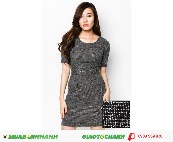 Đầm tay lỡ 2 túi trước | Mã: AD235-đen | Giá: 788000 Quy cách: 84-66 (+-2) chiều dài tb: 85cm - 90cm | chất liệu: kaki bố | Size (S - M - L - XL) | Mô tả: Thêm phần trẻ trung và thanh lịch cùng đầm ôm in họa tiết. Thiết kế đi kèm dây lưng tạo điểm nhấn thu hút và khéo léo khoe vòng eo thon gọn của bạn., 3