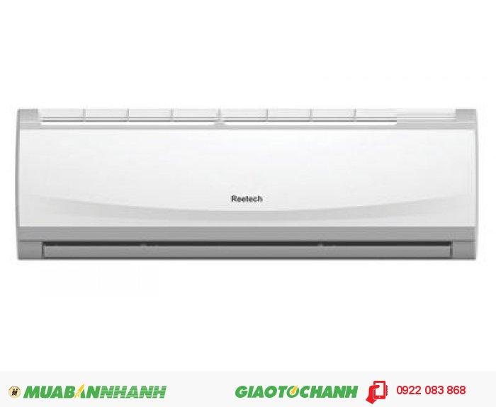 MÁY LẠNH REETECH RT9-DD/RC9-DDChế độ làm lạnh nhanhTạo luồng không khí mạnh đem lại cảm giác mát lạnh ngay cho căn phòng của bạnCánh quạt gió đảo chiều tự độngCho luồng không khí lạnh lan tỏa đều khắp phòngTự khởi động lại khi có điệnTính năng này giúp bạn không phải thao tác nhiều khi máy lạnh khởi động lạiCó 3 tốc độ quạt kèm chức năng tự động điều chỉnhMáy lạnh Reetech RT9-DD 1 HP có 3 tốc độ cho bạn lựa chọn dễ dàng, 4