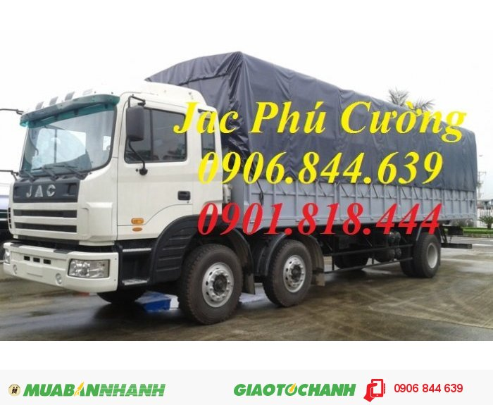 Xe tải nặng Jac 190Hp/200Hp – Bán xe tải JAC  2 dí 190Hp 3 chân giá rẻ 0