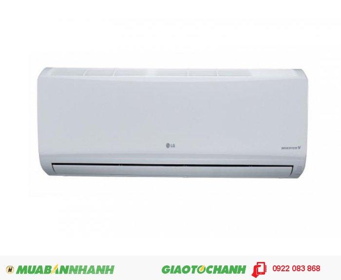 MÁY LẠNH LG V10ENTDàn tản nhiệt mạ vàngCông nghệ Inverter giúp tiết kiệm năng lượngMáy lạnh làm lạnh nhanh hơnTấm lọc nhiệt sinh họcChế độ vận hành cho da khôChế độ hẹn giờ thông minhTự vận hành khi có điện lại (sau 3 phút)Chế độ vận hành khi ngủChức năng khử ẩm nhẹ, 3