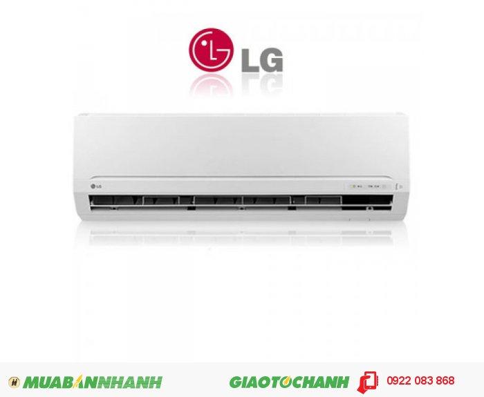 Mã sản phẩm: LG V10ENT InverterModel: LG V10ENT InverterHãng sản xuất: LG Công suất:1 Ngựa (1 HP) Kích thước: DL : 285 x 895 x 210 (mm) DN : 500 x 720 x 230 (mm)(C x R xS) Xuất xứ: Thái Lan Sử dụng: Cho phòng có diện tích : 12 - 15 m² hay thể tích : 36 - 45 m³ khí Bảo hành: 02 năm, 4