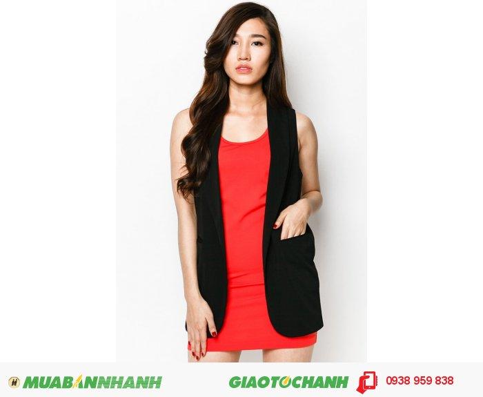 Đầm West 2 lớp | Mã: AD227-cam | Giá AD227-cam Quy cách: 84-66-90 (+-2): chiều dài tb: 85cm -  90cm | Chất liệu: Linen | Size (S - M - L - XL) | Mô tả Trở thành quý cô thanh lịch và hiện đại trong đầm suông phối vest. Đây là gợi ý lí tưởng cho bạn gái luôn muốn mình nổi bật hơn chốn công sở lẫn dạo phố., 3