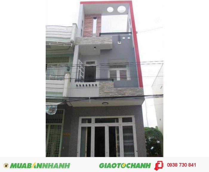 Bán nhà mặt tiền đường Bùi Văn Ba, Q7, TPHCM