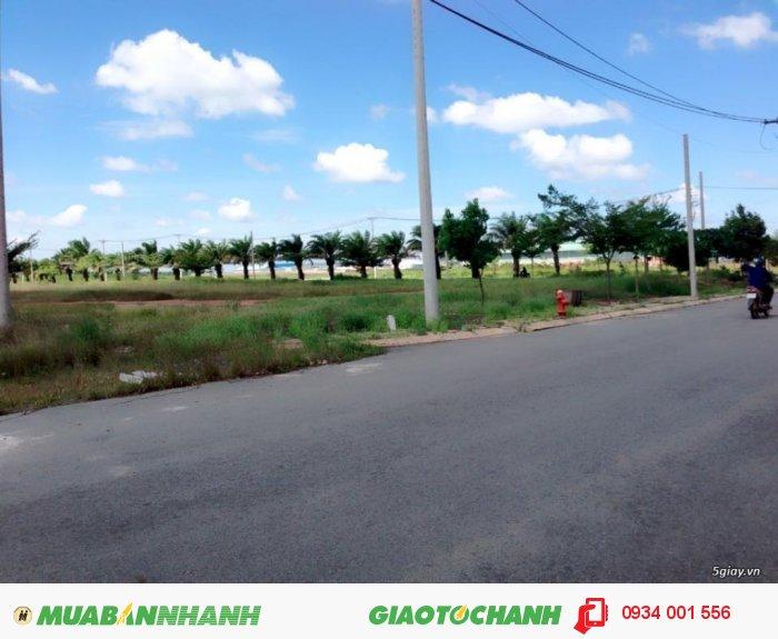 Bán lô đất nền mặt tiền shr 16m Trần Văn Giàu, Bình Chánh