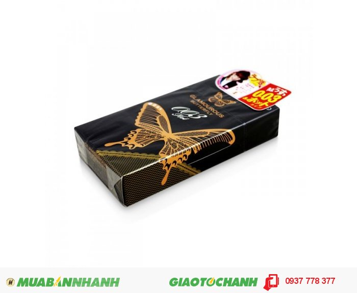 Bao Cao Su Jex Glamouros Butterfly Hot 003 Hộp 10 BCS2