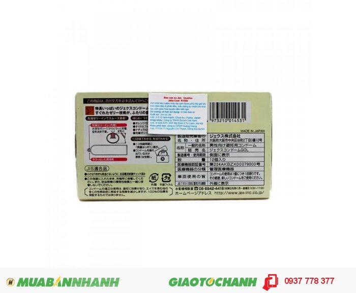 Bao Cao Su Jex Usuusu Jelia Coat R1000 - Ôm Khít Hộp 12 BCS3