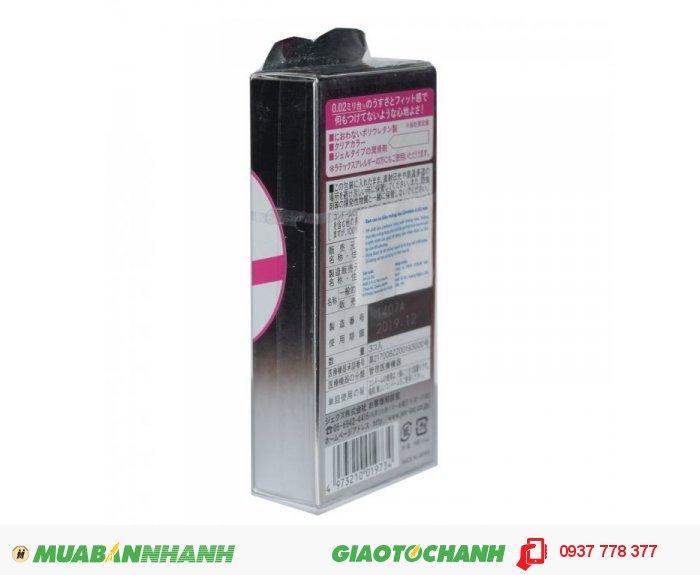 Bao Cao Su Jex Condom 0.02mm Hộp 3 BCS3