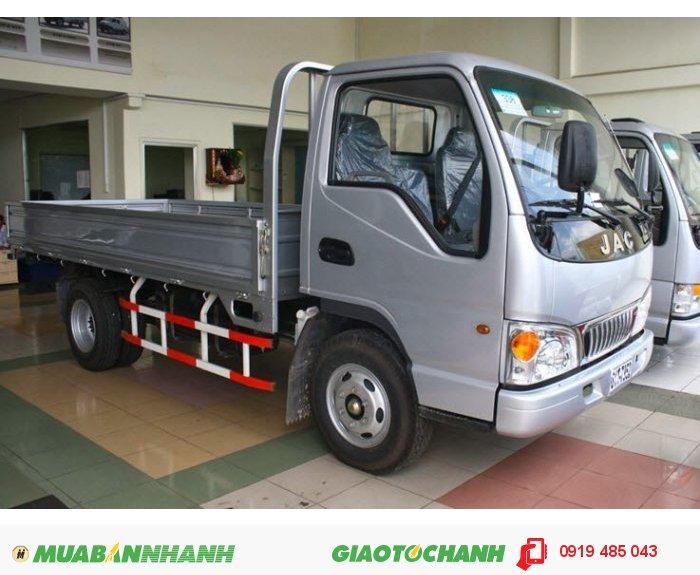 Bán xe tải JAC, mua xe tải JAC hỗ trợ trả góp 0
