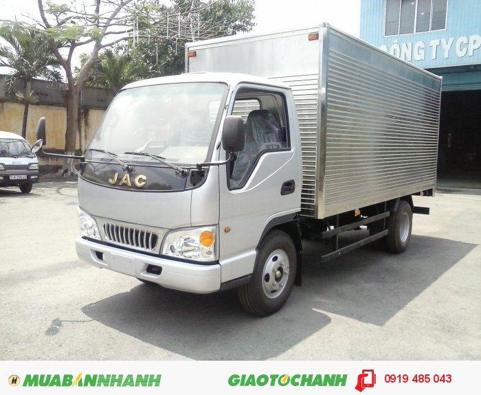 Bán xe tải JAC, mua xe tải JAC hỗ trợ trả góp 1