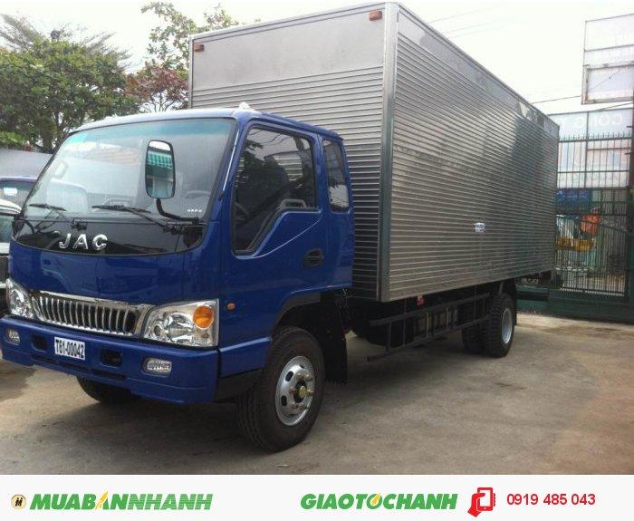 Bán xe tải JAC, mua xe tải JAC hỗ trợ trả góp 3