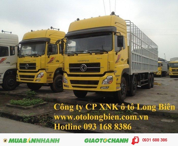 Xe sat xi, tải thùng 4 chân Dongfeng tải trọng 17-17,9 tấn Long Biên, Hà Nội 2015 0