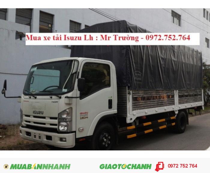 Giá bán xe tải ISUZU 5 tấn 5.5 tấn