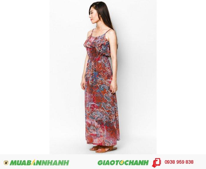 Đầm maxi 2 dây | Mã: AD225-đỏ| Giá: 488000 Quy cách: 84-66-90 (+-2): chiều dài tb: 85cm - 90cm | chiffon lạnh | Size (M) | Mô tả: