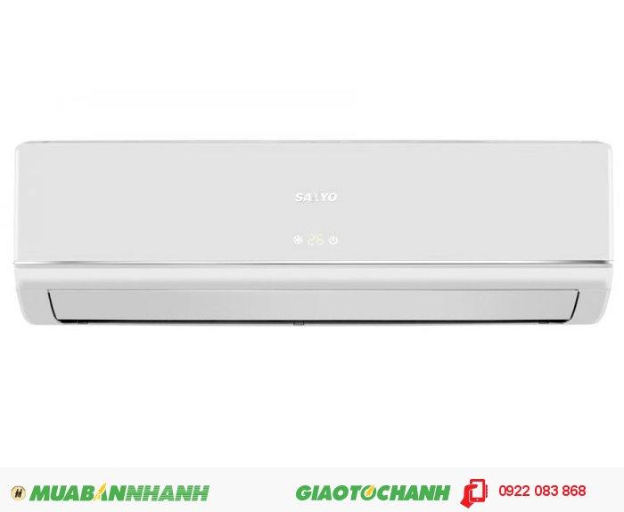 Sanyo KC9BGXuất xứ: Việt NamHãng sản xuất: Máy lạnh SanyoCông suất: 1 ngựa | 1.0 hpBảo hành: 2 năm Chức năng: Làm lạnh Công suất lạnh (KW): 2.64 Công suất lạnh (BTU/h): 9000 Tuần hoàn khí (Hi m3/h): 550 Khả năng hút ẩm (Hi l/h): 0.8 Nguồn điện: 1pha, 50Hz, 2