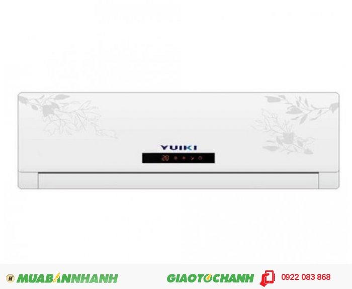 Yuki YK-9MABModel: Yuiki YK-9MAB / YK09 Công suất: 1Hp ~ 9000Btu Công suất tiêu thụ: 2600WChức năng: làm lạnh nhanh. ít hao điệnMôi chất lạnh: Gas R22Nguồn điện: 220V/50Hz Kích thước:Dàn nóng: 800 x 290 x 186Dàn lạnh: 665 x 500 x 295Bảo hành: 24 tháng chính hãng, 3