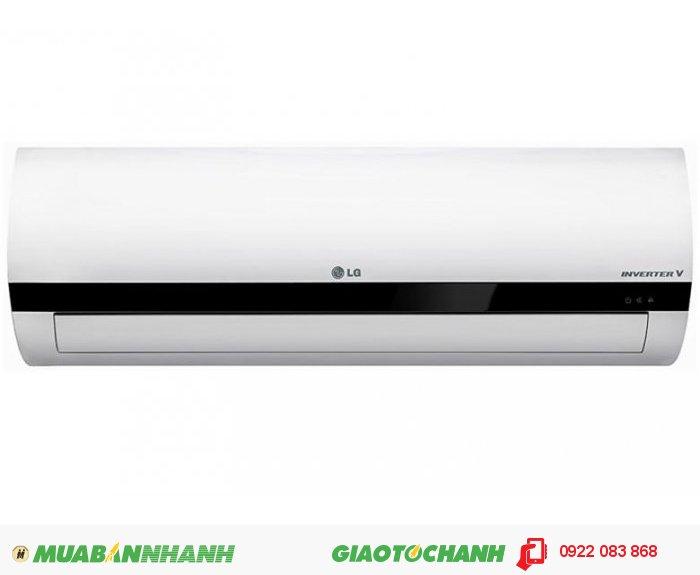 LG V10ENTCông suất: 1,5 Hp (1,5 Ngựa) - 12.000 Btu/hXuất xứ: Thái LanBảo hành: 12 thángMáy lạnh Inverter tiết kiệm điện Máy lạnh tiết kiệm điện với công nghệ biến tần Inverter tiên tiến.Công nghệ kiểm soát năng lượng chủ động với 4 mức lựa chọn Máy lạnh cho phép người dùng tự động điều chỉnh công suất làm lạnh với 4 mức lựa chọn 100%, 80%, 60% và 40%.Tấm lọc bảo vệ đa năng công nghệ 3M Tấm lọc bảo vệ đa năng công nghệ 3M giúp loại bỏ các phần tử có hại trong không khí, giúp không khí trong lành, sạch khuẩn., 2
