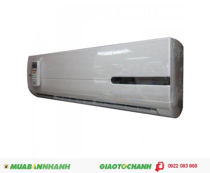 Reetech RT09-DDSản xuất tại: VNCông suất: 1,0 HP (9.000 Btu/h)Kích thước (C x R x S ): Dàn Lạnh : 265 x 800 x 185 (mm)Dàn Nóng : 500 x 700 x 225 (mm)Trọng lượng: Dàn lạnh: 8 kg – Dàn nóng: 23 kgLoại gas: R22Kích thước ống dẫn gas : 6.35mm / 9.53mmĐiện nguồn:220V, 1Pha, 50HzTình trạng sản phẩm: mới 100%Bảo hành: 01 năm, 1