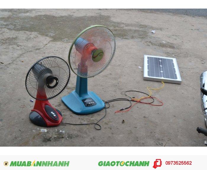 Quạt gió năng lượng mặt trời1