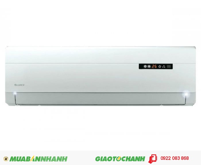 Gree GWBA-09C- Hãng sản xuất: thương hiệu quốc tế- Xuất xứ: Liên doanh- Công suất 9.000BTU- Làm lạnh nhanh / Màn hình LED hiển thị- KT cục nóng (RxSxC): 848 x 320 x 540 mm- KT cục lạnh (RxSxC): 770 x 180 x 250 mm- Góc thổi gió rộng / Hoạt động siêu mạnh / Tấm lọc nhiều lớp- Bảo hành 24 tháng, 4