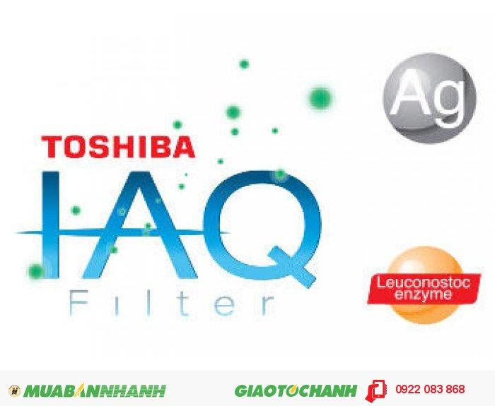 Với công nghệ Toshiba IAQ chứa 2 tác nhân Leuconostoc enzyme & tinh thể bạc. Máy lạnh Toshiba RAS-H13S3KS-V có khả năng ngăn chặn sự phát triển của vi khuẩn và vi rút giúp không khí luôn trong lành và sạch sẽ. Công nghệ kháng khuẩn tiêu diệt đến 99,9% vi khuẩn. Cùng khả năng khử mùi hấp thụ và phân hủy khói, khí amoniac, chất hữu cơ dễ bay hơi, thực phẩm có mùi và các mùi hôi khác. Ngăn ngừa và ức chế hình thành nấm mốc., 4