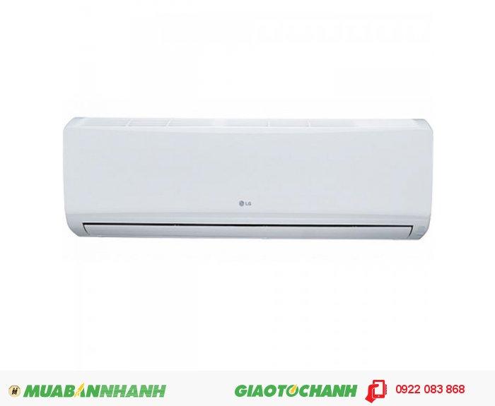 LG S09ENA- Kiểu 2 khối - 1 chiều lạnh- Công suất lạnh : 9000BTU- Điện năng tiêu thụ : 835 - 900 W- Ga R22- Tính năng :Làm lạnh nhanh- Dàn tản nhiệt mạ vàng Gold Fin- Xuất xứ Liên doanh- Bảo hành : 24 tháng, 2