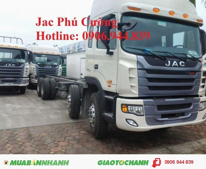 Bán xe tải Jac 4 chân 340Hp  GALLOP 38T/ 38.5T/ 38 tấn nhập khẩu giá rẻ 0