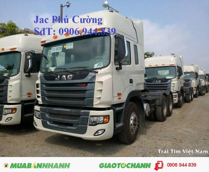 Bán xe tải Jac 4 chân 340Hp  GALLOP 38T/ 38.5T/ 38 tấn nhập khẩu giá rẻ 1