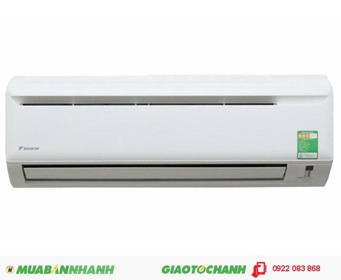Daikin FTV25AXV1VModel : Daikin FTV25AXV1V (1.0Hp-R32)Giá : 7.400.000 VNĐSản xuất tại : MalaysiaKích thước(CxRxS) : DL : 288 x 800 x 206 (mm)DN : 550 x 658 x 273 (mm)Công suất : 1 Ngựa (1Hp) - 9.300 Btu/hSử dụng : Cho phòng có diện tích : 12 - 14 m² hay có thể tích : 36 - 42 m³ khí (thích hợp cho phòng khách, văn phòng)Bảo hành : 01 Năm cho Dàn lạnh, 04 Năm cho Máy nén, 1