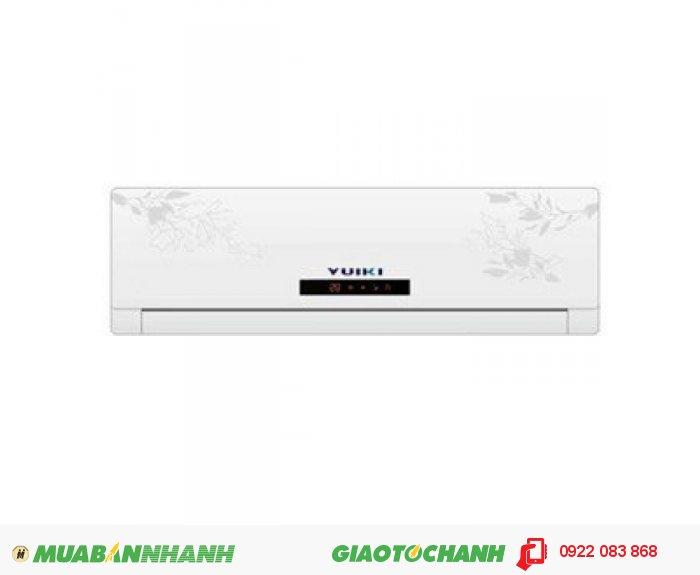 YUIKI YK-12MABSản xuất tại : MALAYSIAKích thước : Dàn lạnh: 800.290.286Công suất : 1,5 HP ( 12000 BTU)Sử dụng : Dùng cho phòng có thể tích: 55 - 60m3* Làm sạch không khí bằng ion âm * Ba tốc độ quạt kèm chức năng tự động điều chỉnh* Điều khiển từ xa màn hình LCD * Chế độ hoạt động tiết kiệm năng lượngBảo hành : 2 Năm, 2